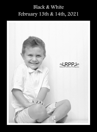 Classic low key and contemporary high key black and white images of children