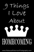 9 Things I Love About Homecoming Graphic