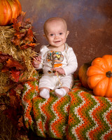 Riley @ the Pumpkin Patch