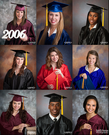 Traditional Cap & Gown Pictures